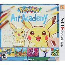 Pokemon Art Academy For 3DS RPG Brand New 8E