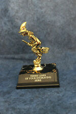 Witch on a Broomstick Trophy -. FREE ENGRAVING!!!!  Halloween, costume contests!