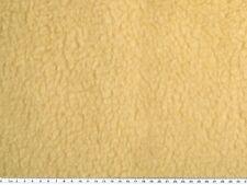 Teddy Locke, Plüsch, Lammfellimitat, mittel-beige, ca.145cm