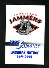 Jamestown Jammers--1995 Pocket Schedule--Dodge--Tigers Affiliate