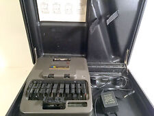 Vintage Court Reporting Machine Baron Data Transcriptor X Hard Case No Tripod
