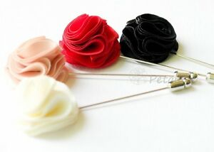 POM POM MEN'S FLOWER Boutonniere / Buttonhole For Wedding,LAPEL PIN,brooch pin