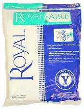 Royal Commercial Upright Vacuum Type Y  Filter Bags 7 Pk - AR10140
