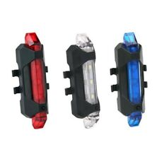 Night Riding Safety Warning Rear Lamp Usb Rechargeable Led Bicycle Tail Light