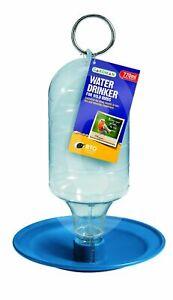 Hanging Reservior Bird Garden Water Drinker Wild Bird Bottle Feeder Gardman 1521