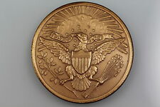 USA ANNUIT COEPTIS. 1782 – 1882 ALL SEEING EYE SHIELD OF UNITED STATES MEDAL