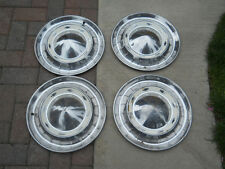 '55 Chevy Pass. Car  Full Cover Hubcaps Set of 4
