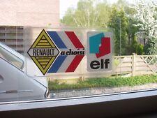 renault 8 10 16 R16 12 6 4 15 17 gordini  alpine autocollant renault elf.