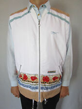 Womens Vtg 90s REBOOK Retro Sportwear Sleeveless Jacket Top One size Plus AO98