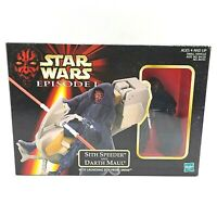 Hasbro Star Wars Episode I Sith Speeder And Darth Maul Action Figure