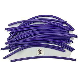 "25 Knex Purple 7-1/2"" Flexible Rods - 7.5"" Standard K'nex Parts Lot"