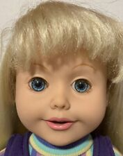 Amazing Ally Let's Play Tea Party Work Talking Interactive Doll Original Clothes