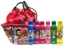 "Lucky Lady Red Bingo Bag w/ Daubers 6-Pack with ""I Really Love Bingo"" Bag!"