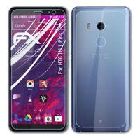 atFoliX Verre film protecteur pour HTC U11 Plus 9H Hybride-Verre