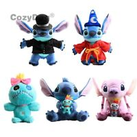 Cartoon Lilo & Stitch Plush Toy Angel Scrump Stitch Stuffed Animal Doll Kid Gift