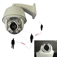 1/3'' SONY 700TVL PTZ Auto Tracking 30X ZOOM DOME CCTV OUTDOOR Camera 8PCS IR Z