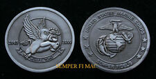 EL TORO CHALLENGE COIN US MARINES VETERAN GIFT PIN UP CLOSURE 3RD MAW MCAS BULL