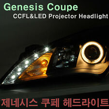 CCFL&LED Projector Head Light Assembly 2p For 2008-2011 Hyundai Genesis Coupe