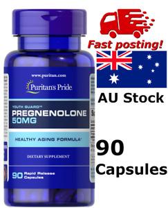 Puritan's Pride Pregnenolone 50mg 90 caps Special Anti aging Deal