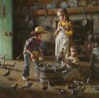 Morgan Weistling Ducklings Giclee on Canvas