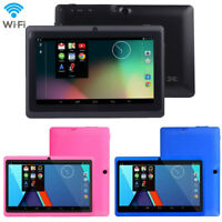 "7"" Google Android 4.4 Quad Core Tablet PC 1GB + 8GB Dual Camera Wifi Bluetooth"