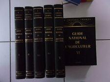 lot GUIDE NATIONAL DE L' AGRICULTEUR tomes 1 à 6 ( l'intégrale TBE Garry 1972 )