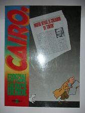 Album de la Revista Cairo Especial Hergé. Bob de Moor,Jacques Martín. Nuevo.