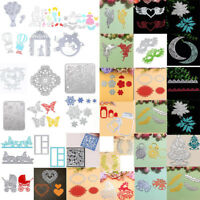 Metal DIY Cutting Dies Stencil Scrapbook Card Album Paper Embossing Craft  Decor