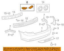 Scion TOYOTA OEM 11-13 tC Rear Bumper-Rear Retainer Left 5256321010