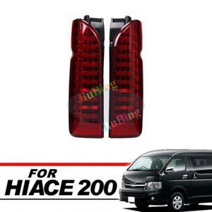 LED Turn Signal Brake Lamp Tail Lighs For TOYOTA Hiace200 Commuter Van 2005-2017