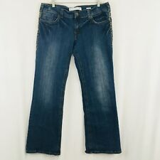 Tin Haul Jeans Bootcut Medium-Dark Faded Wash Size 34 Regular