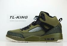 0e2c1bed8788ee Nike Air Jordan Spizike Olive Canvas Cone Black 315371 300 L 9.5 R 10.5