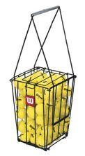 Portable Tennis Ball Basket Pick Up Hopper with Stand Sport Equipment Wilson 75