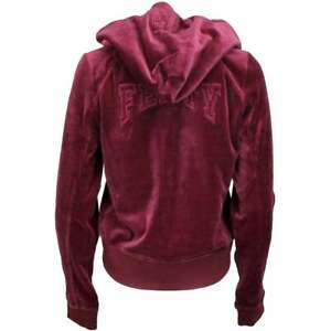 Puma Fenty By Rihanna Velour Fitted Zip Up Track Jacket Womens   Casual  Hoodie