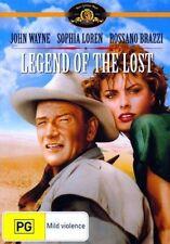 Legend of The Lost Movie DVD R4 Rossano Brazzi