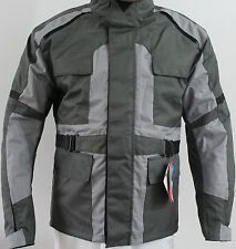 Men Motorbike Motorcycle Cordura Safety Jacket PU Armour Extra Large size New
