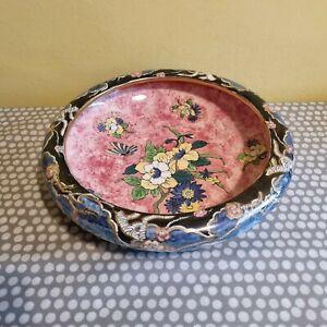 """Vintage Royal Winton Grimwades """"Byzanta"""" Bowl With Floral Decoration"""