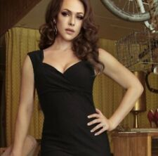 Pinup Couture By Pinup Girl Clothing Erin Dress In Black Size S