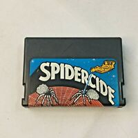 TRS-80 Spidercide Video Game Cart Color Computer Radio Shack 1983