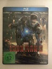 Iron Man 3 (Blu-ray, Steelbook, Region Free Import)