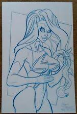 Pat Carlucci - Original Art Sketch - MS. MARVEL