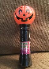 Vintage Halloween Blinker Flash Light JOL Pumpkin Blow Mold