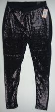 TORRID Size 1 Sequined Black Leggings NWT $44.50 08/2015