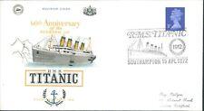 U.K Souvenir Cover Titanic Sinking 60th Anniversary 15th April 1972 version 2
