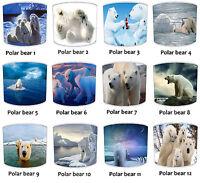 Polar Bear Lampshades, Ideal To Match Polar Bear Bedding Sets & Duvet Covers