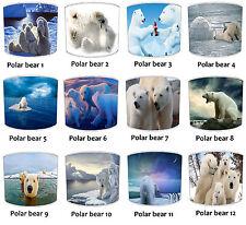 Osos Polares Pantallas de Lámpara, Ideal Para Combinar Oso Cojines & Edredones