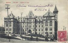 City Hall Hôtel de Ville QUEBEC QC Canada 1912  Montreal Import Co. Postcard