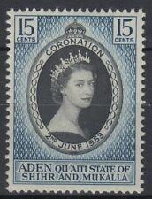 1953 Aden Hadhramaut */MLH Mi.28 Krönung Coronation Königin Queen [sv0363]