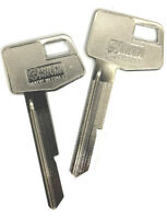 Holden x 2 Metal Key Blank GM - GMH suits VB VC VH VK VL HZ WB Commodore Rare