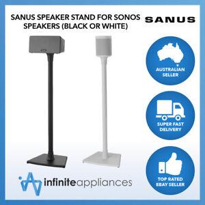 Sanus Wireless Single Speaker Stand Designed For Sonos One, SL, Play:1 & Play:3